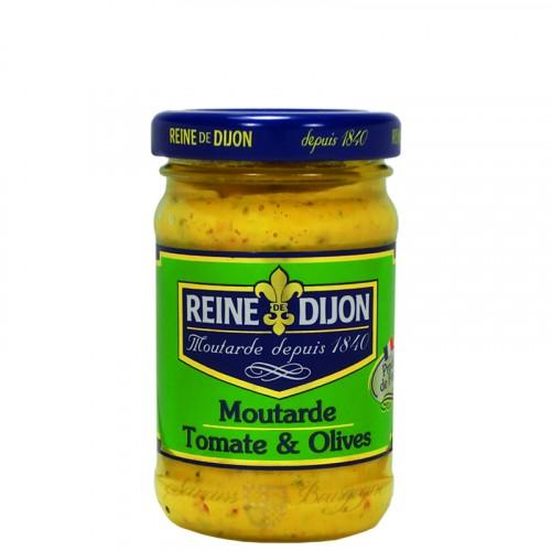 Moutarde aux Tomates et Olives 100g