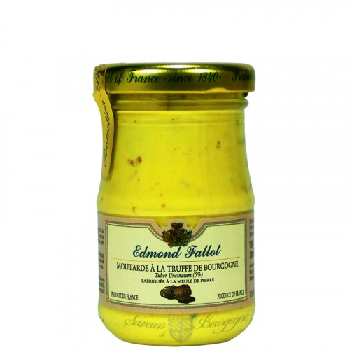 Moutarde à la Truffe de Bourgogne 100g Fallot