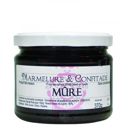 Confiture Mûre 370g Marmelure & Confitade