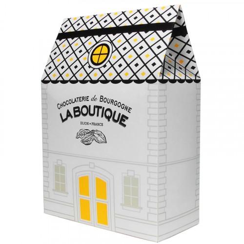 Escargots de Bourgogne Chocolat au lait Praliné Boite maison 500g