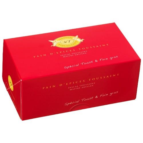 Pain d'épices spécial toast & foie gras 560g