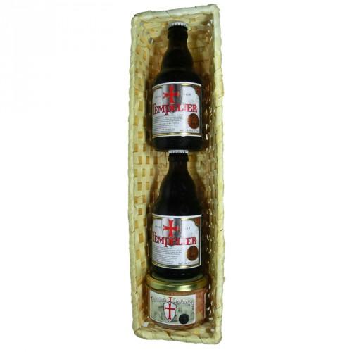 Panier des Templiers 2 bières + 1 terrine