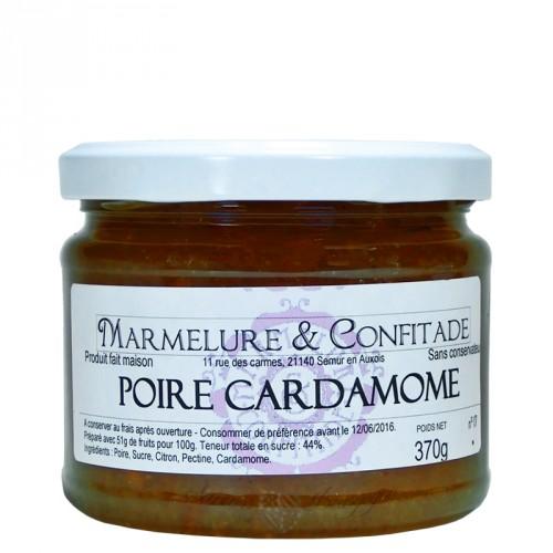 Confiture Poire et cardamome 370g Marmelure & Confitade