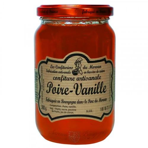 Confiture Poire-Vanille 380g Confituriers du Morvan