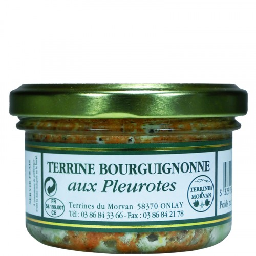 Terrine Bourguignonne aux pleurotes 80g