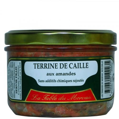 Terrine de Caille aux amandes 200g