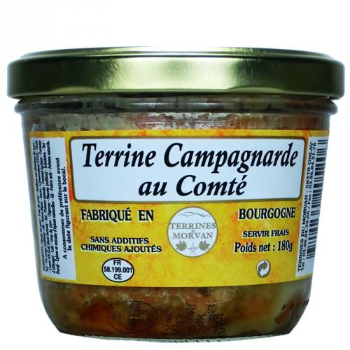 Terrine Campagnarde au Comté 180g