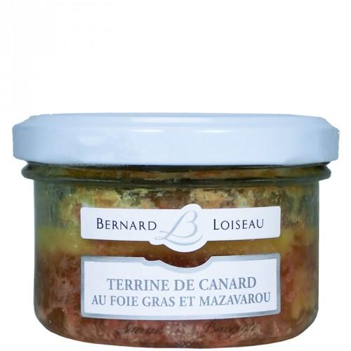 Terrine de Canard au Foie Gras et Mazavarou 80g