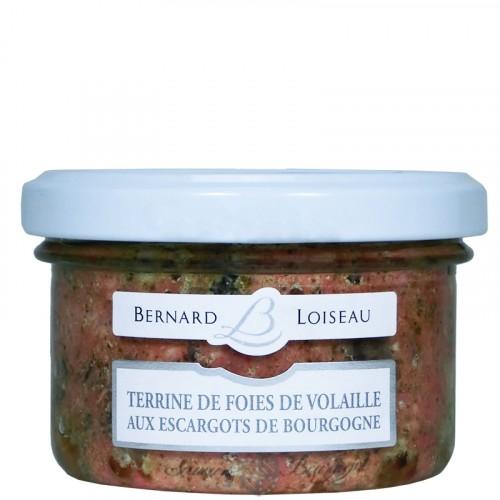 Terrine de Foies de Volailles aux Escargots de Bourgogne 80g