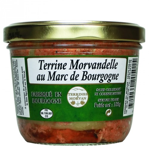 Terrine Morvandelle au Marc de Bourgogne 180g