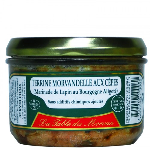 Terrine Morvandelle aux Cèpes 200g