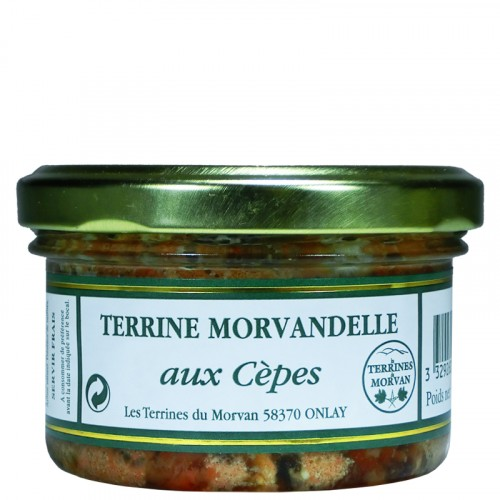 Terrine Morvandelle aux Cèpes 80g
