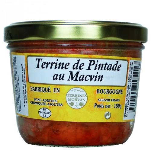 Terrine de Pintade au Macvin 180g