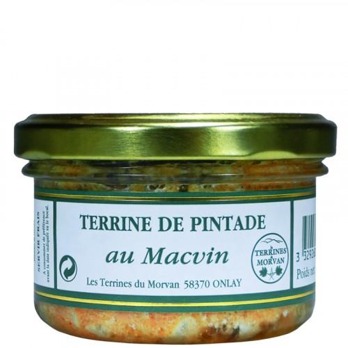 Terrine de pintade au Macvin 80g