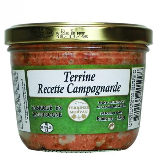 Terrine Recette Campagnarde 180g