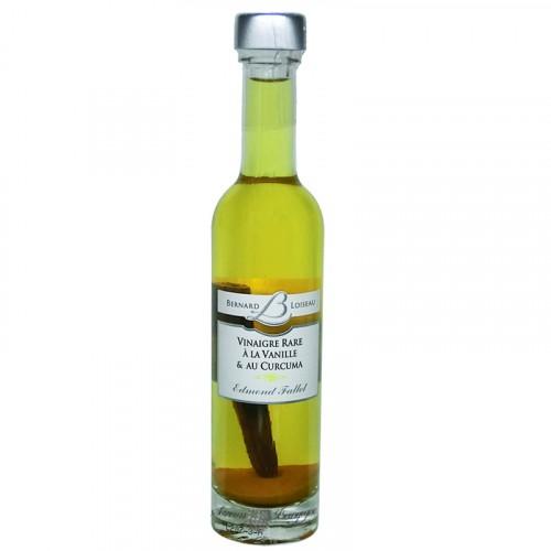 Vinaigre Rare à la vanille & au Curcuma 100ml