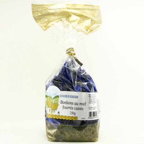 Bonbons au miel fourrés au Cassis 250g