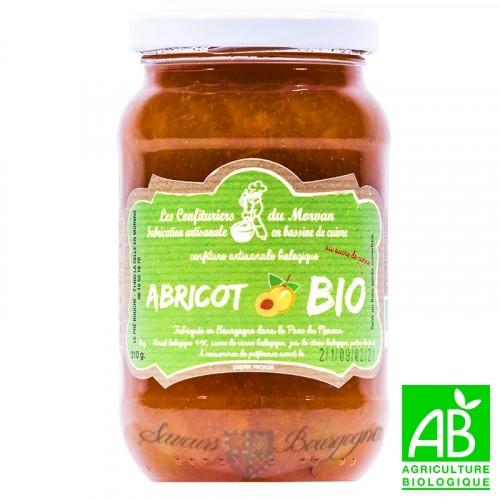 Confiture Abricot Bio 310g Confiturier du Morvan
