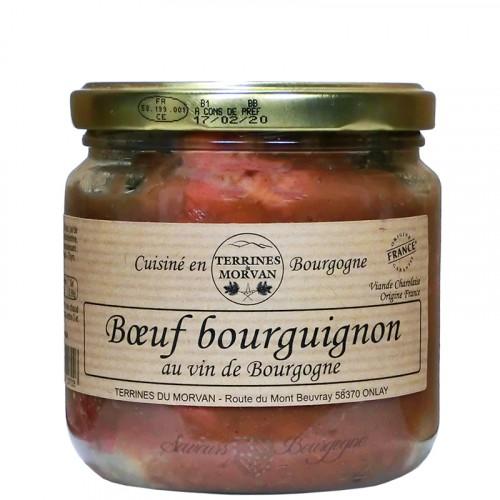 Boeuf Bourguignon au vin de Bourgogne 400g
