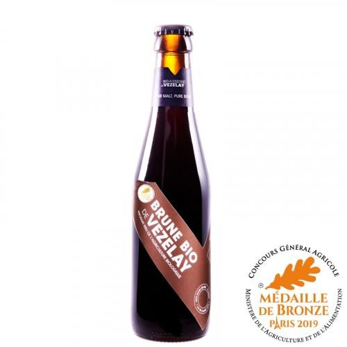 Bière brune de Vézelay 50cl Bio
