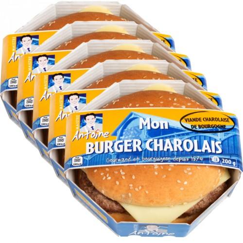 Burger Charolais x 5
