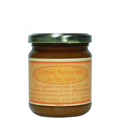 Caramel Beurre Salé au Grand Marnier 240g