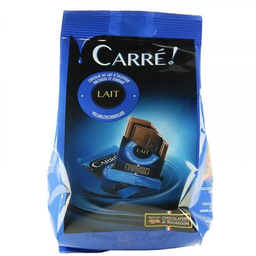Sachet de Carrés Chocolat au lait 200g