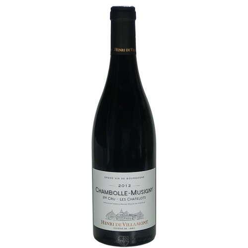 "Chambolle Musigny 1er Cru ""Les Chalots""  75cl"