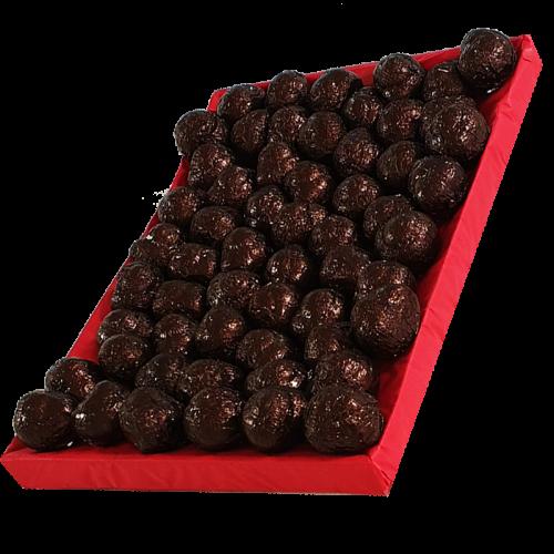 Escargots de Bourgogne au Chocolat noir praliné - Corbeille de 1Kg
