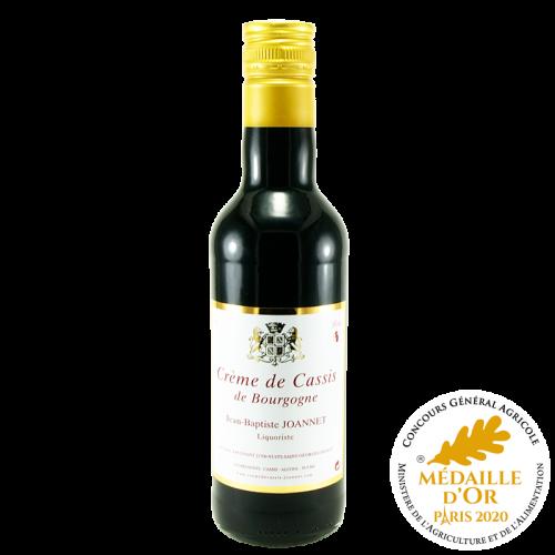 Crème de Cassis de Bourgogne IGP 16° 70cl Médaille Or CGA 2020