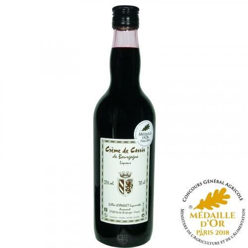 Cassis de Bourgogne Crème 20% 70cl
