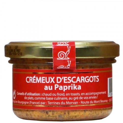 Crémeux d'escargots au paprika à tartiner 80g