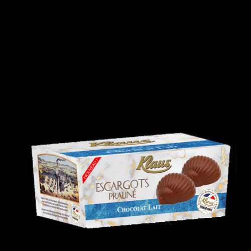 Escargots de Bourgogne Chocolat au lait Praliné Ballotin 280g - Klaus