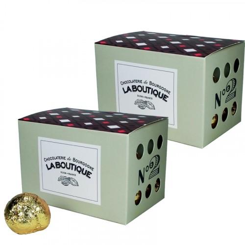 Escargots de Bourgogne Chocolat au lait Praliné Pack 250g DLUO 05/09/2018 + 1 Gratuit