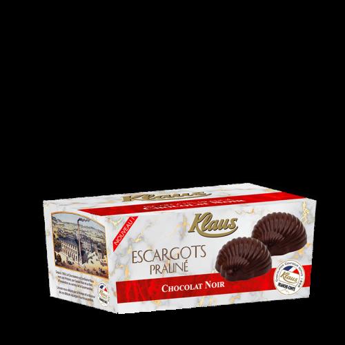Escargots de Bourgogne Chocolat Noir Praliné ballotin 280g - Klaus
