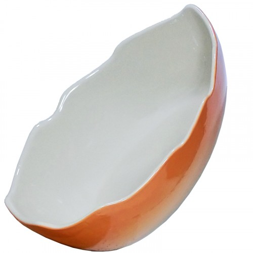 Plat céramique coquille d'œuf