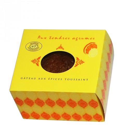 Gâteau aux épices Toussaint 'Aux tendres agrumes' 245g