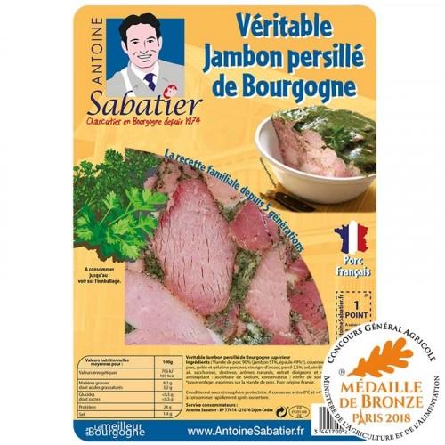 Jambon persillé de Bourgogne 200g - Livraison uniquement en enlèvement chez nos partenaires