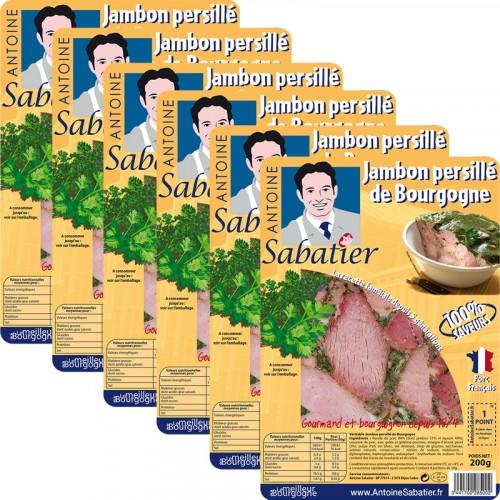Jambon persillé de Bourgogne 200g x 6 tranches