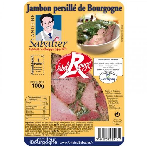 Jambon persillé de Bourgogne Label Rouge 100g - Livraison uniquement en enlèvement chez nos partenaires