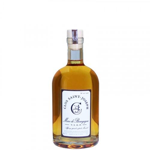 Marc de Bourgogne affiné en fût de Moscatel - V.S.O.P 50% 50cl Clos St Joseph