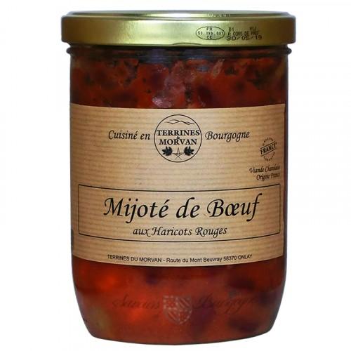 Mijoté de Boeuf aux haricots rouges 750g