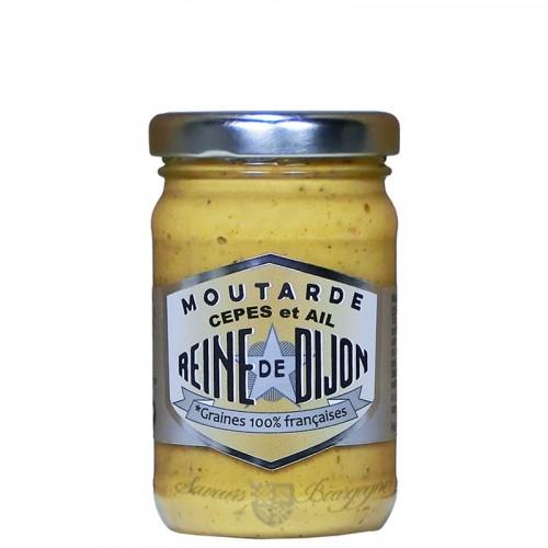 Moutarde cèpe et ail 100g - Graine 100% Française Reine de Dijon