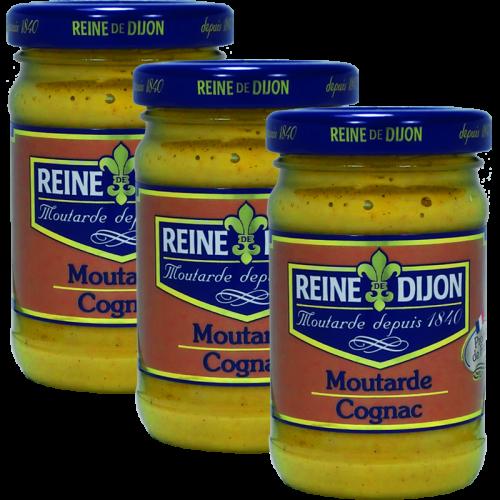 Moutarde au Cognac 100g DLUO 10/09/2019 x2 + 1 Gratuit