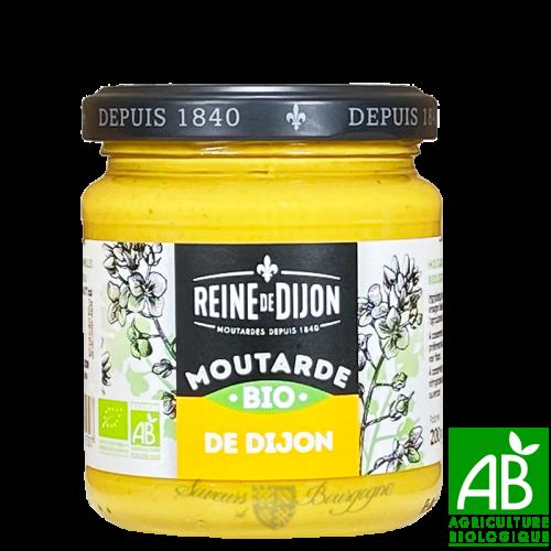Moutarde de Dijon Bio 200g - Reine de Dijon