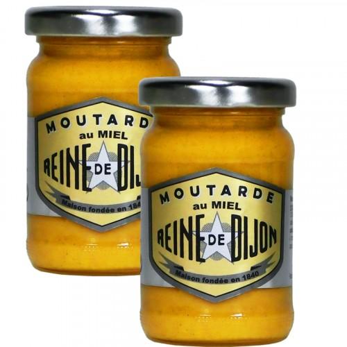 Moutarde au Miel 100g - 100% graines de Bourgogne DLUO 15/09/2018 + 1 Gratuit