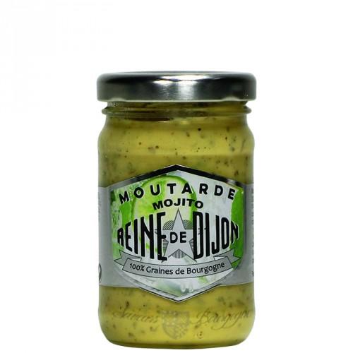 Moutarde Mojito 100g Reine de Dijon