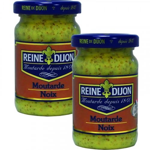 Moutarde aux Noix 100g DLUO 19/07/2018 + 1 Gratuit