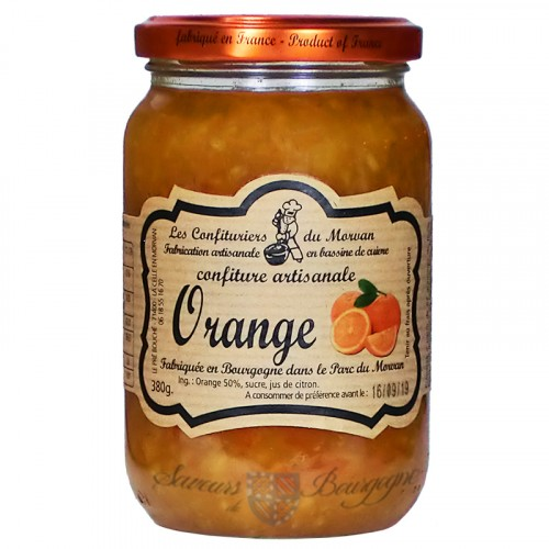 Confiture Orange 380g Confituriers du Morvan