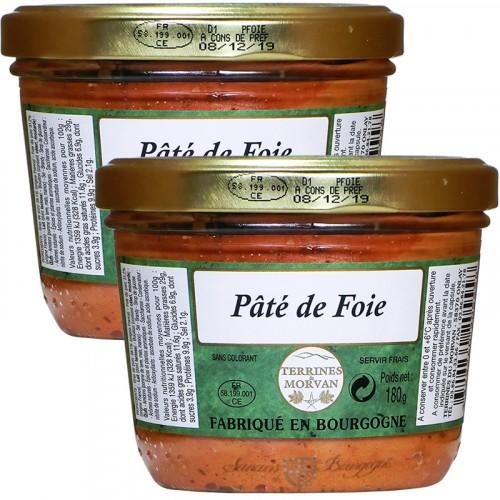Pâté de Foie 180g + 1 Gratuit